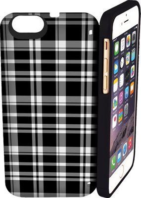 eyn case iPhone 6 Plus/6s Plus wallet/storage Case Black & White - eyn case Electronic Cases