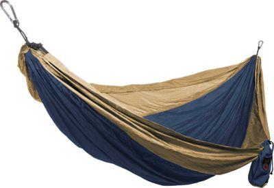 Grand Trunk Single Parachute Hammock Royal/Khaki - Grand Trunk Outdoor Accessories