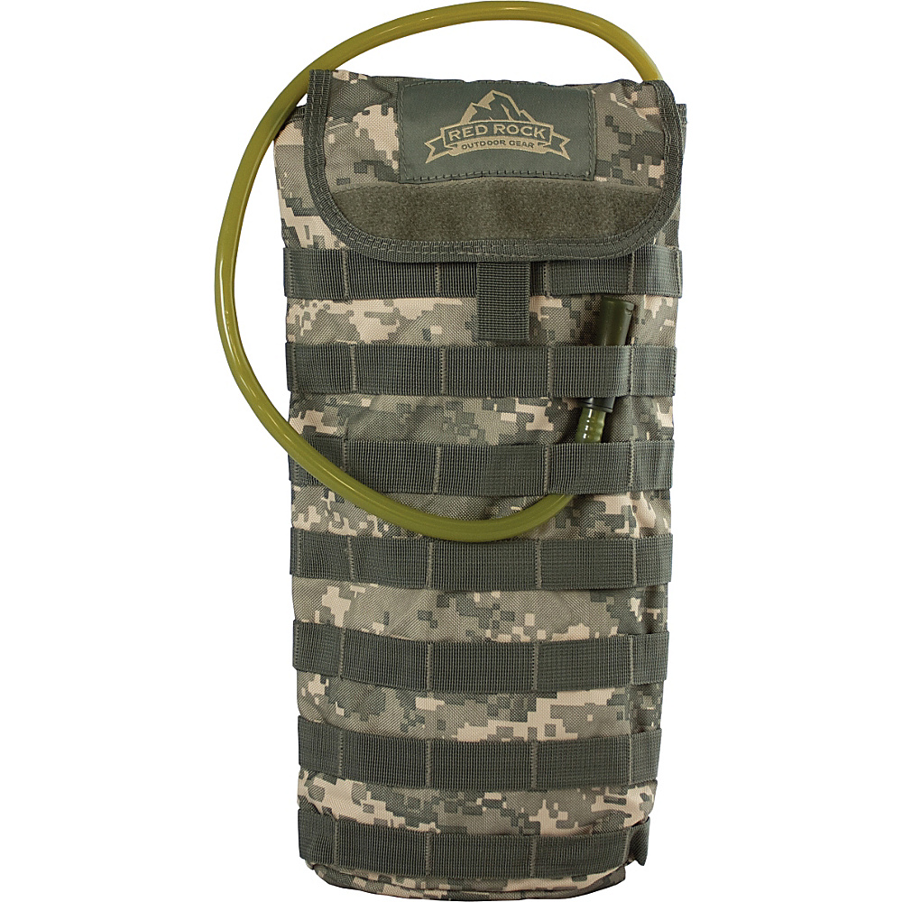 Red Rock Outdoor Gear MOLLE Hydration Pouch ACU Camouflage Red Rock Outdoor Gear Hydration Packs and Bottles