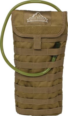 Red Rock Outdoor Gear MOLLE Hydration Pouch Coyote Tan - Red Rock Outdoor Gear Hydration Packs and Bottles