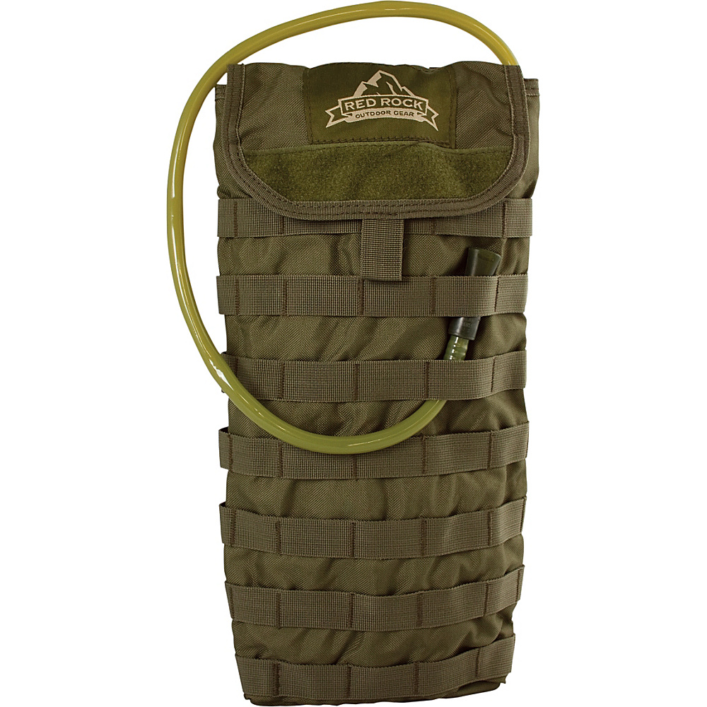 Red Rock Outdoor Gear MOLLE Hydration Pouch Olive Drab Red Rock Outdoor Gear Hydration Packs and Bottles