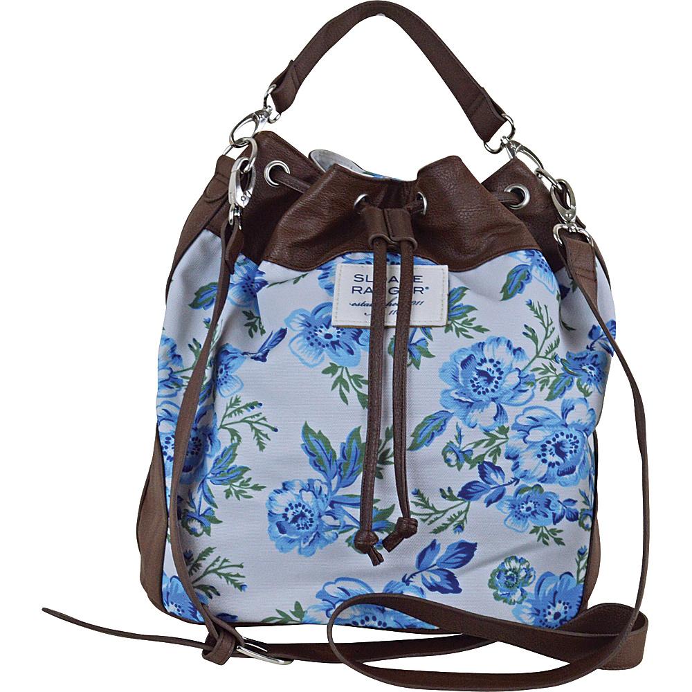 Sloane Ranger Drawstring Bucket Bag Vintage Floral Sloane Ranger Fabric Handbags