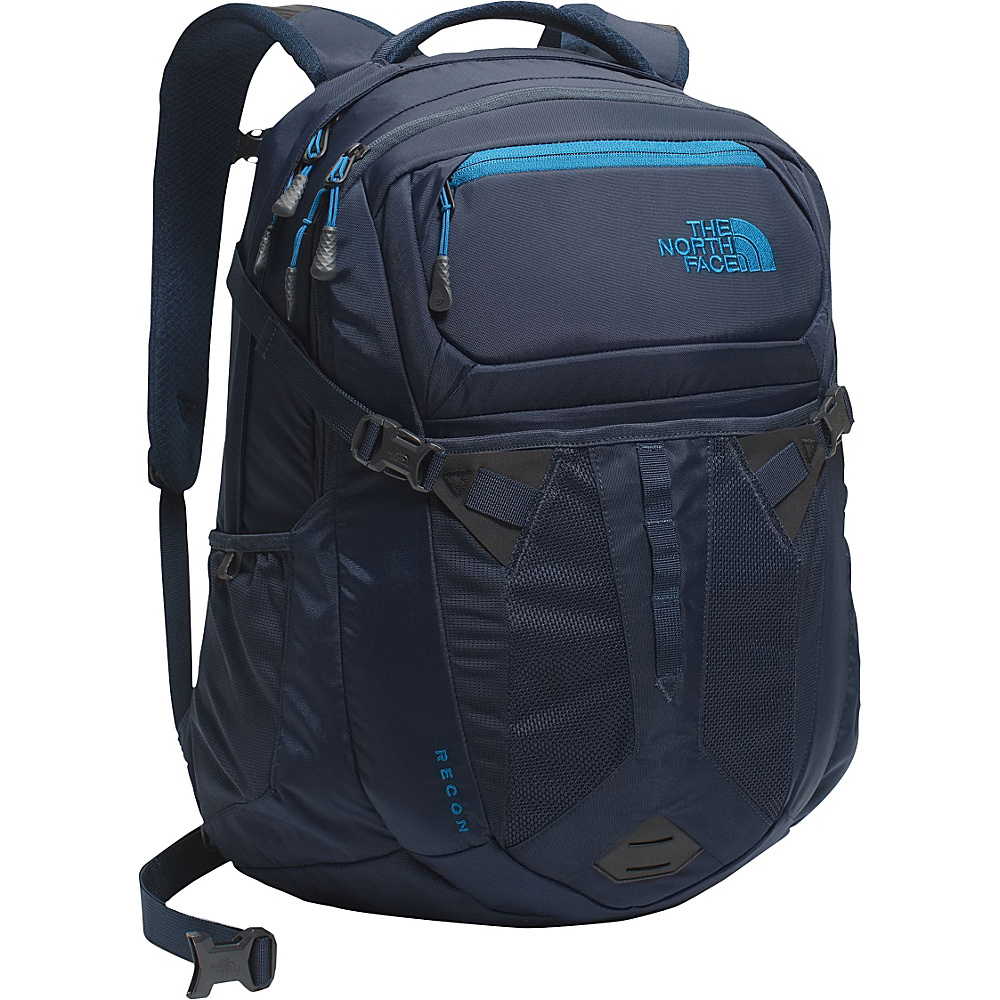 The North Face Recon Laptop Backpack Urban Navy Banff Blue The North Face Business Laptop Backpacks