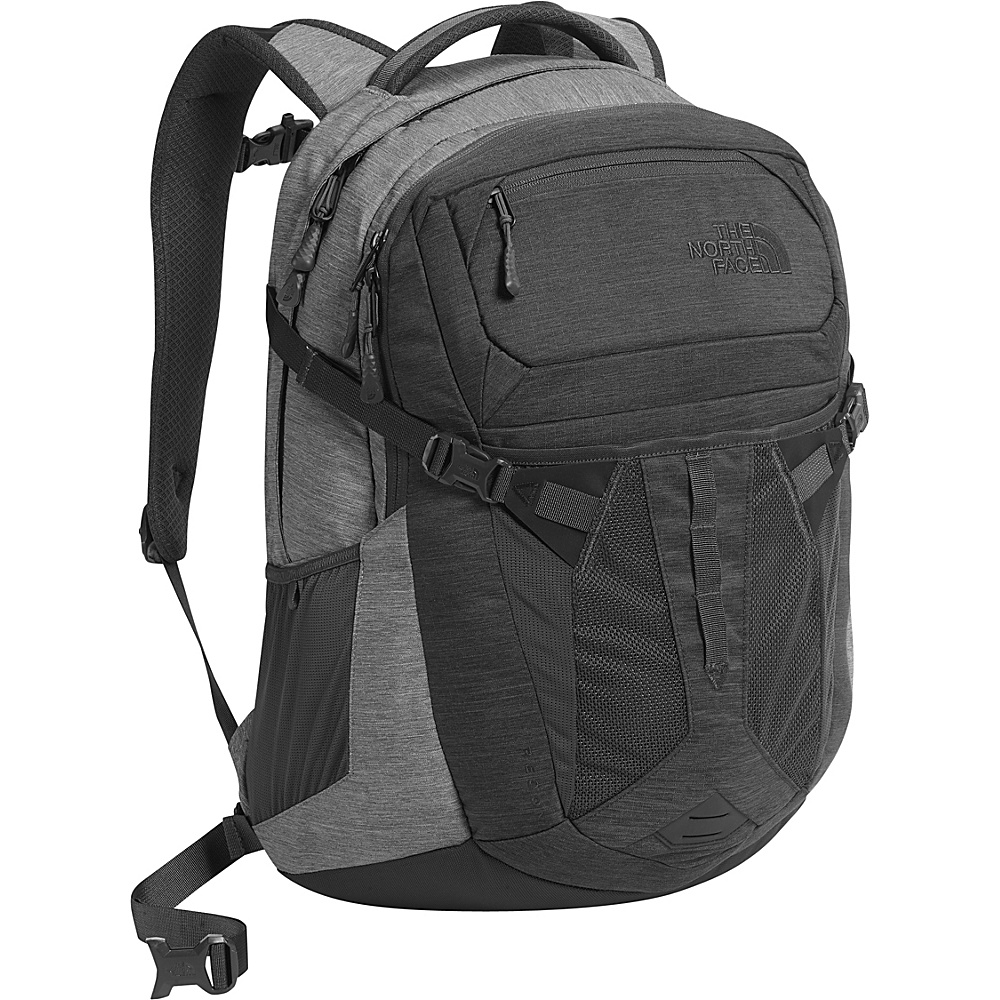 The North Face Recon Laptop Backpack - 15 Tnf Dark Grey Heather/Tnf Medium Grey Heather - The North Face Business & Laptop Backpacks - Backpacks, Business & Laptop Backpacks