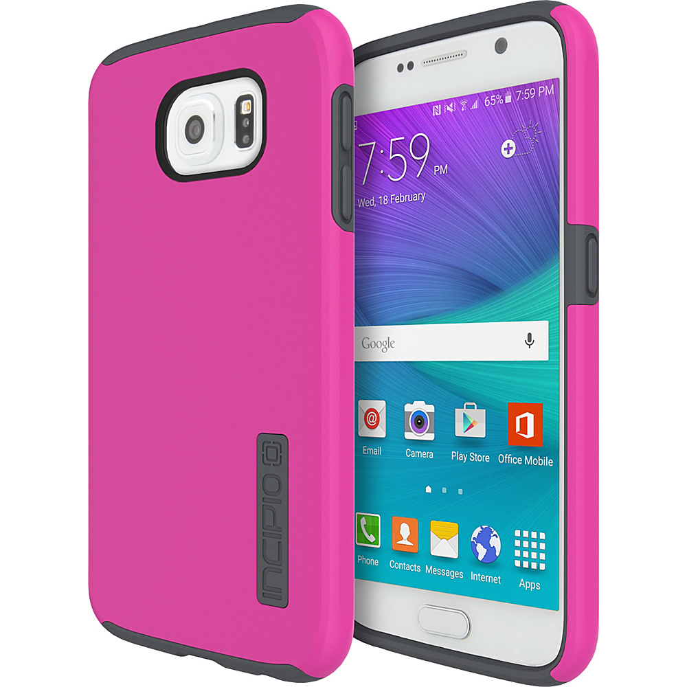 Incipio DualPro for Samsung Galaxy S6 Pink/Charcoal - Incipio Electronic Cases - Technology, Electronic Cases