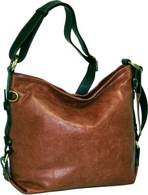Nino Bossi Heavenly Helen Crossbody Cognac - Nino Bossi Leather Handbags