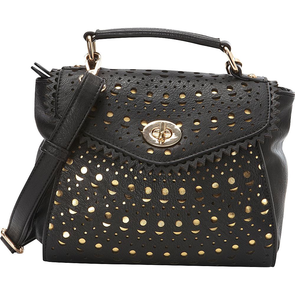 Melie Bianco Sophia Crossbody Black - Melie Bianco Manmade Handbags