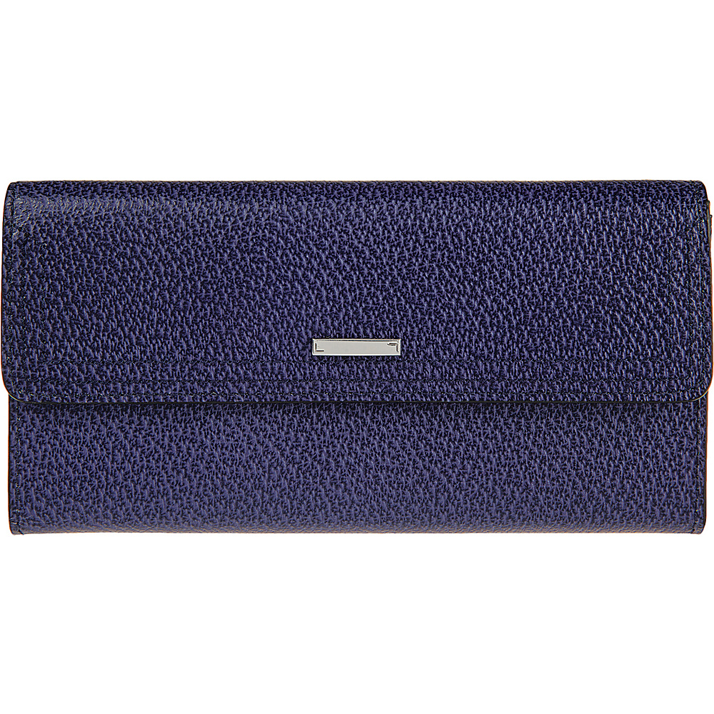 Lodis Stephanie RFID Checkbook Clutch Midnight - Lodis Womens Wallets - Women's SLG, Women's Wallets