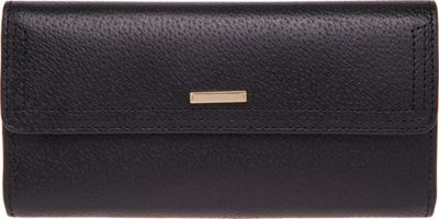 Lodis Stephanie RFID Checkbook Clutch Black - Lodis Women's Wallets