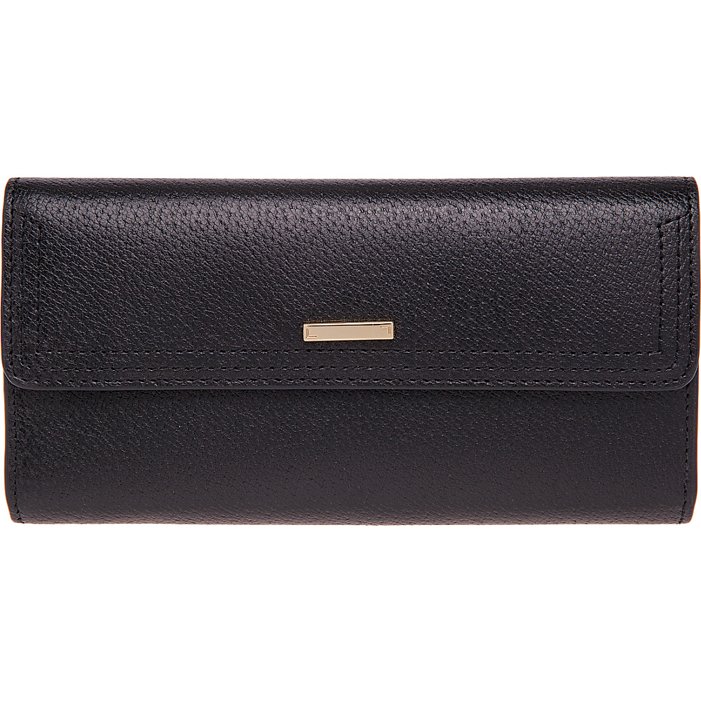 Lodis Stephanie RFID Checkbook Clutch Black Lodis Women s Wallets