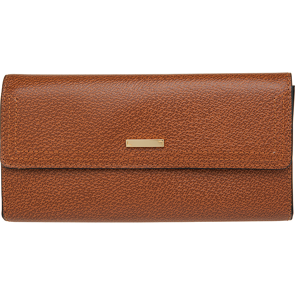 Lodis Stephanie RFID Checkbook Clutch Chestnut Lodis Women s Wallets