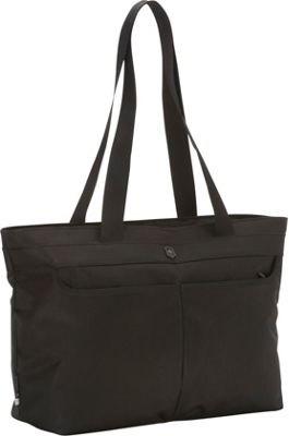 Victorinox Werks Traveler 5.0 WT Shopping Tote Black - Victorinox Luggage Totes and Satchels