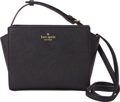 kate spade new york Cedar Street Hayden Crossbody Black - kate spade new york Designer Handbags