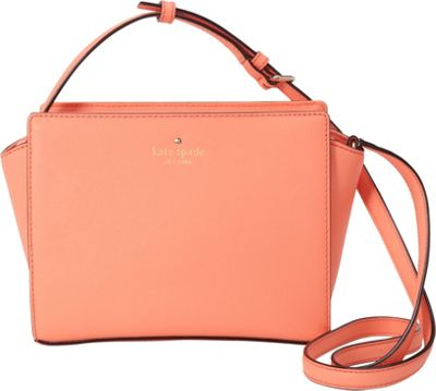 kate spade new york Cedar Street Hayden Crossbody Guava - kate spade new york Designer Handbags