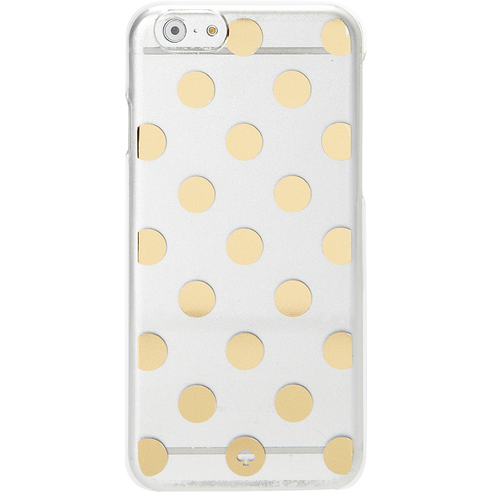 kate spade new york Le Pavillion Clear iPhone 6 Case Clear Gold kate spade new york Electronic Cases