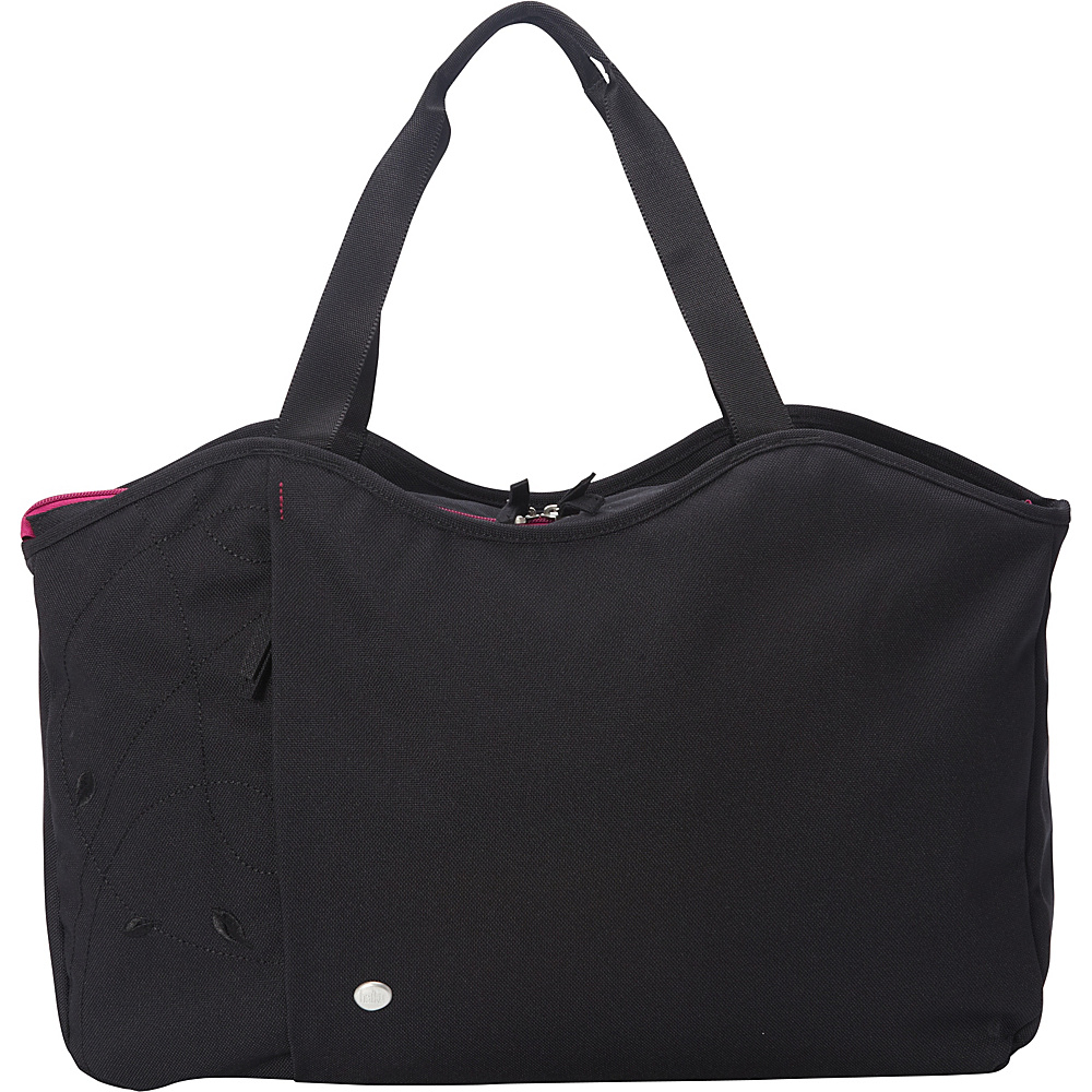 Haiku Day Tote Black Haiku Fabric Handbags