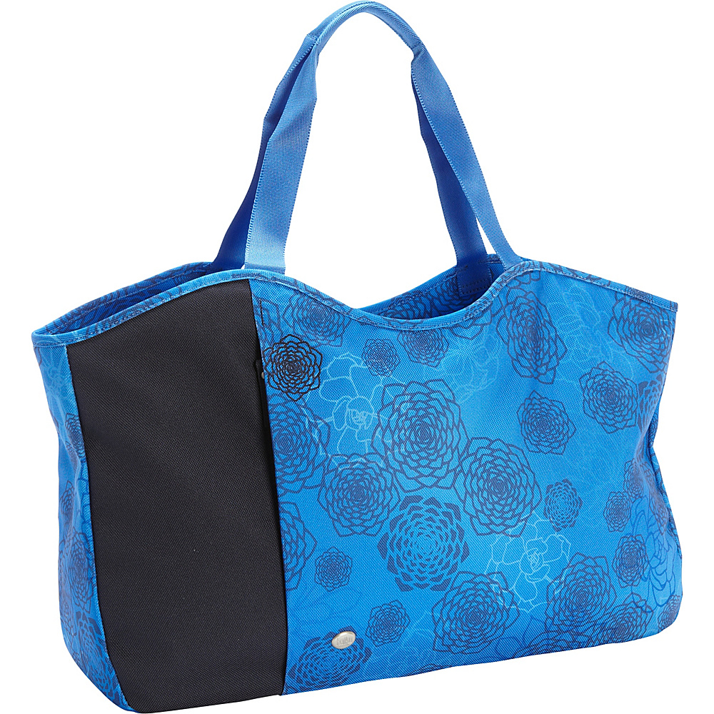 Haiku Day Tote Tie Dye Midnight Haiku Fabric Handbags