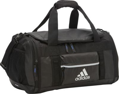 adidas Shield Duffel Black/Black - adidas Gym Duffels