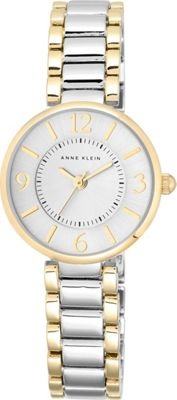 Anne Klein Watches Two-Tone Bracelet Watch Silver - Anne Klein Watches Watches