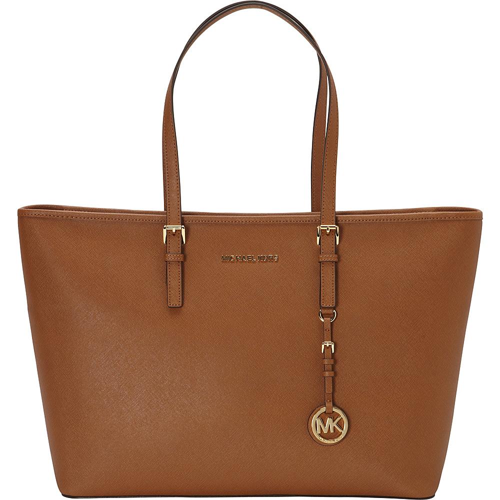 MICHAEL Michael Kors Jet Set Medium Top Zip Multifunction Tote Luggage - MICHAEL Michael Kors Designer Handbags