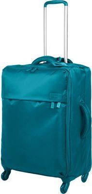 Lipault Paris Original Plume SPINNER 65/24 Luggage Duck Blue - Lipault Paris Softside Checked