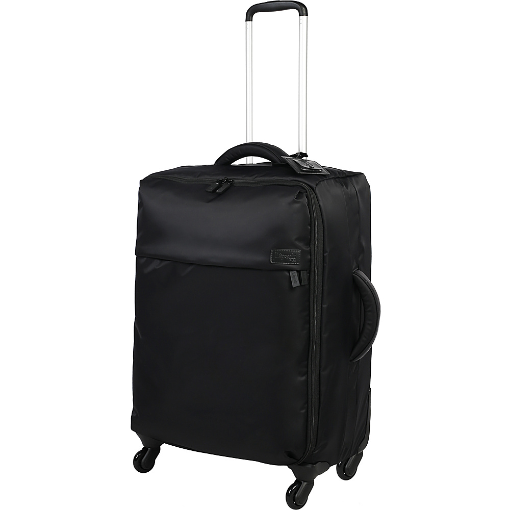 Lipault Paris 4 Wheeled 25 Packing Case Black Lipault Paris Softside Checked