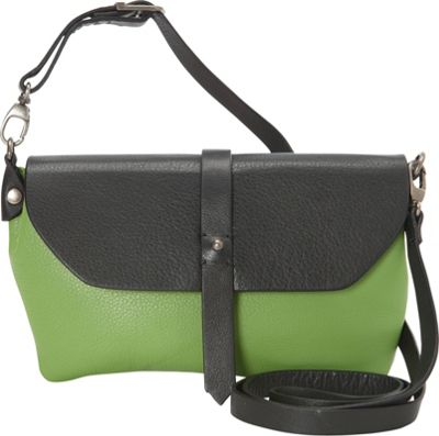Hadaki Primavera Cross body Piquat Green - Hadaki Leather Handbags