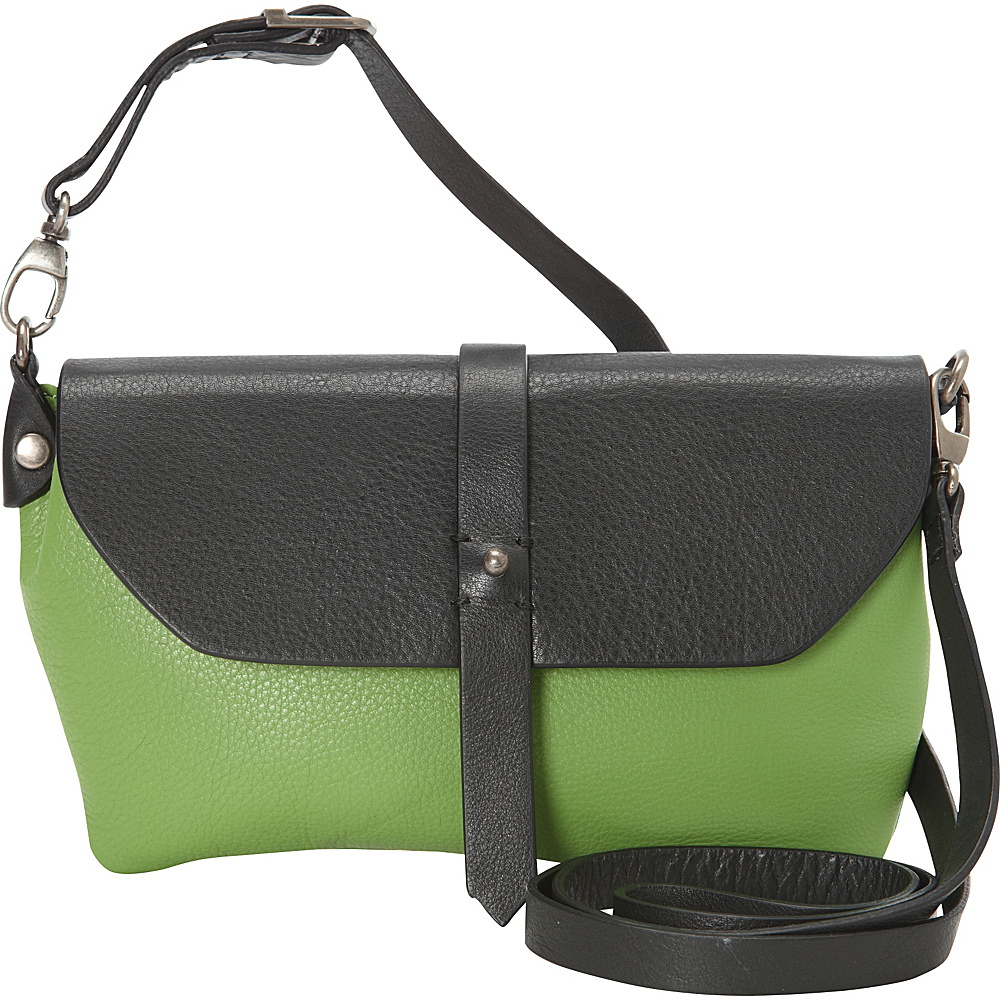 Hadaki Primavera Cross body Piquat Green - Hadaki Leather Handbags - Handbags, Leather Handbags