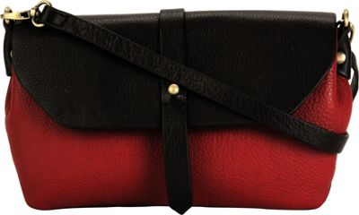 Hadaki Primavera Cross body Deep Red - Hadaki Leather Handbags