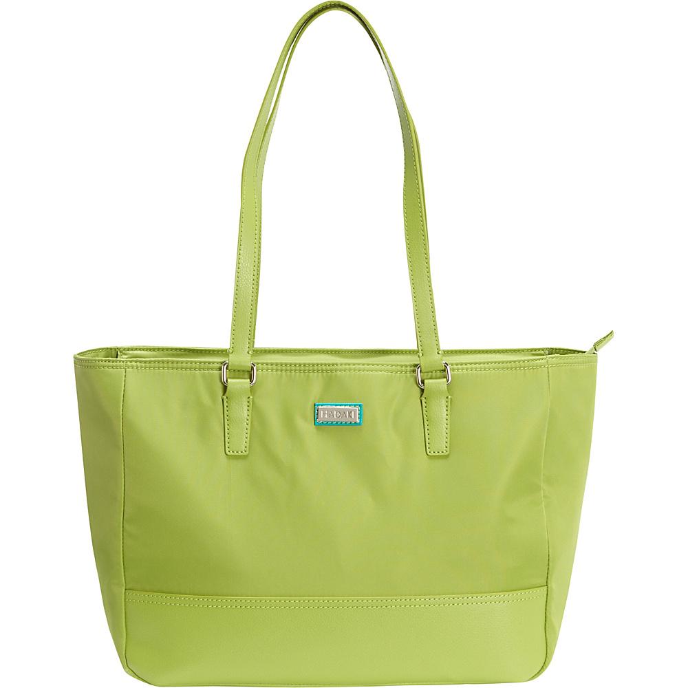 Hadaki Cassandra Tote Piquat Green - Hadaki Fabric Handbags - Handbags, Fabric Handbags