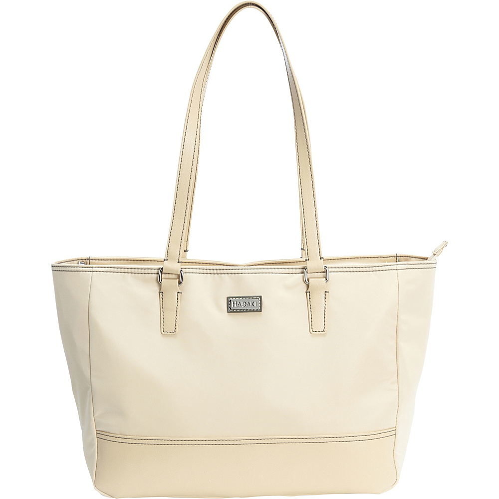 Hadaki Cassandra Tote Semolina - Hadaki Fabric Handbags - Handbags, Fabric Handbags