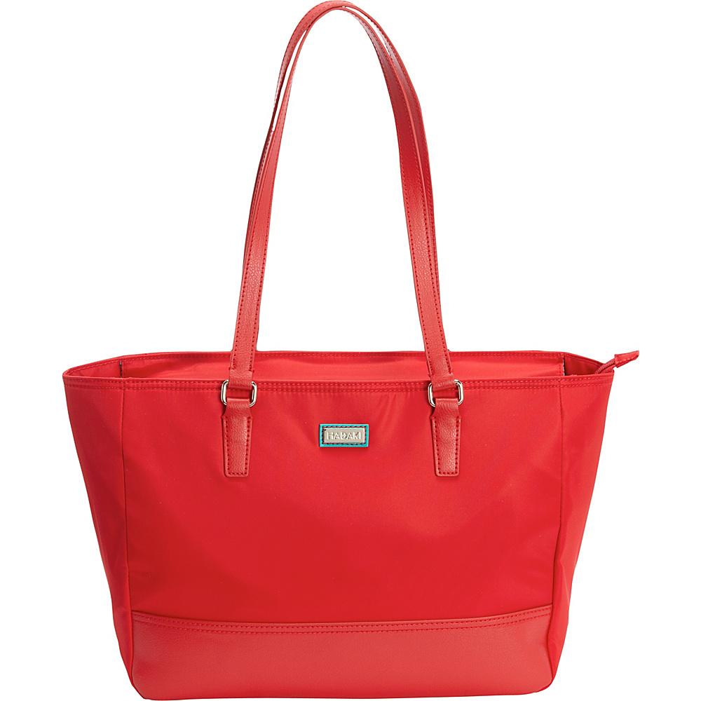 Hadaki Cassandra Tote Tango Red - Hadaki Fabric Handbags - Handbags, Fabric Handbags
