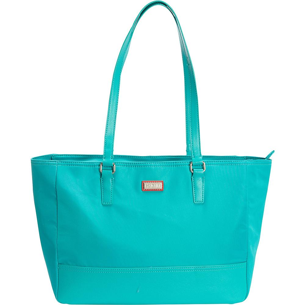 Hadaki Cassandra Tote Viridian Green - Hadaki Fabric Handbags - Handbags, Fabric Handbags