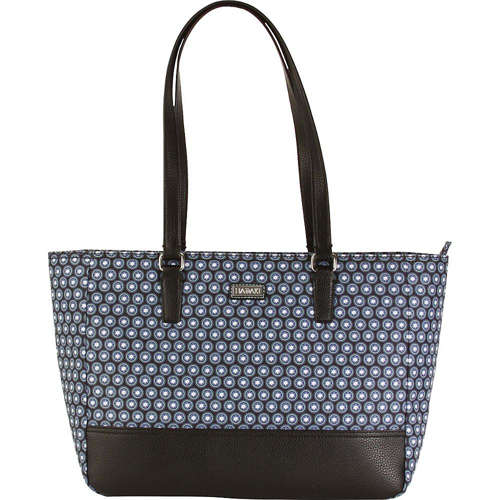 Hadaki Cassandra Tote Fantasia Geo - Hadaki Fabric Handbags - Handbags, Fabric Handbags