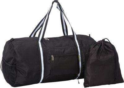 Sacs Collection by Annette Ferber Duffle 2: Two piece Set Black - Sacs Collection by Annette Ferber Travel Duffels