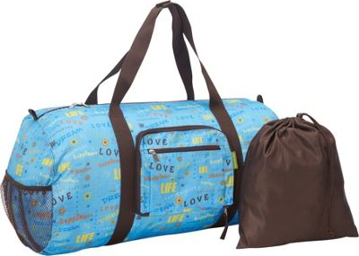 Sacs Collection by Annette Ferber Sacs Collection by Annette Ferber Duffle 2: Two piece Set Love / Dream Blue - Sacs Collection by Annette Ferber Travel Duffels