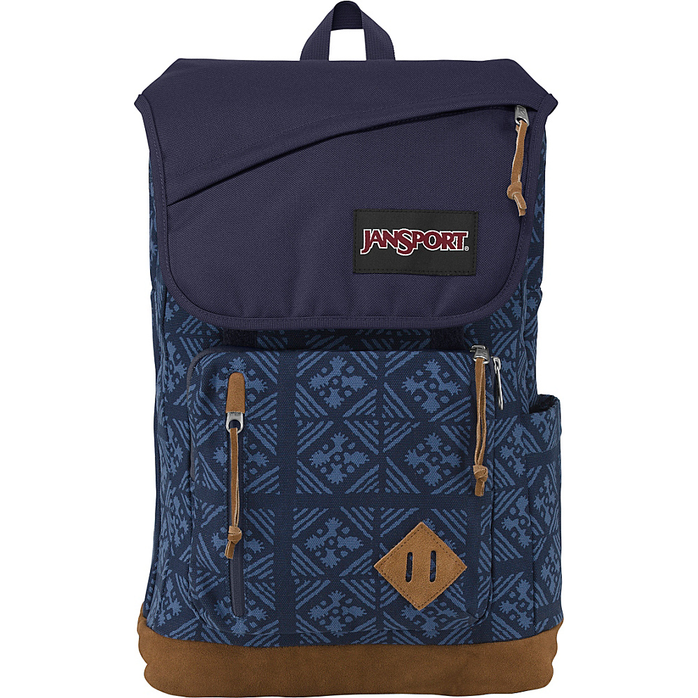 JanSport Hensley Backpack Blue Indigo Adire - JanSport Laptop Backpacks - Backpacks, Laptop Backpacks