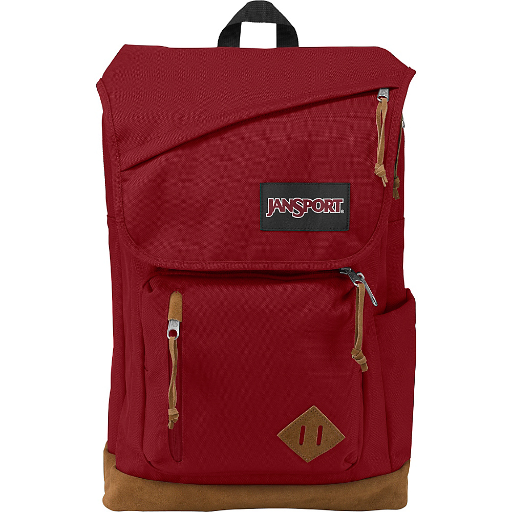 JanSport Hensley Backpack Viking Red - JanSport Laptop Backpacks - Backpacks, Laptop Backpacks
