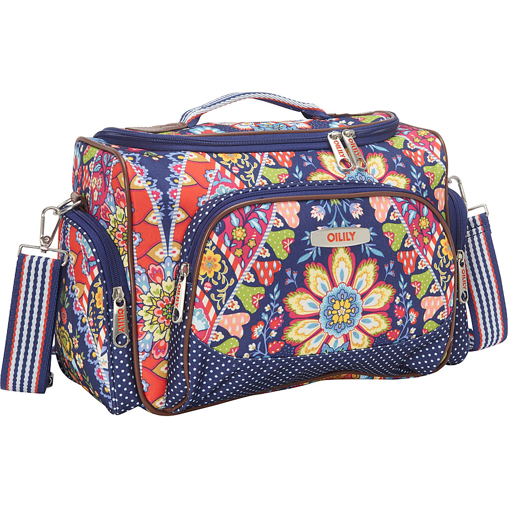 ean 8714457172327 oilily travel beauty case navy oilily toiletry kits. Black Bedroom Furniture Sets. Home Design Ideas