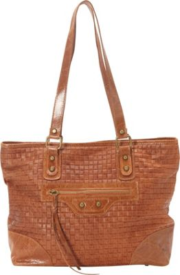 Sharo Leather Bags Woven Italian Leather Tote Honey Mustard - Sharo Leather Bags Leather Handbags