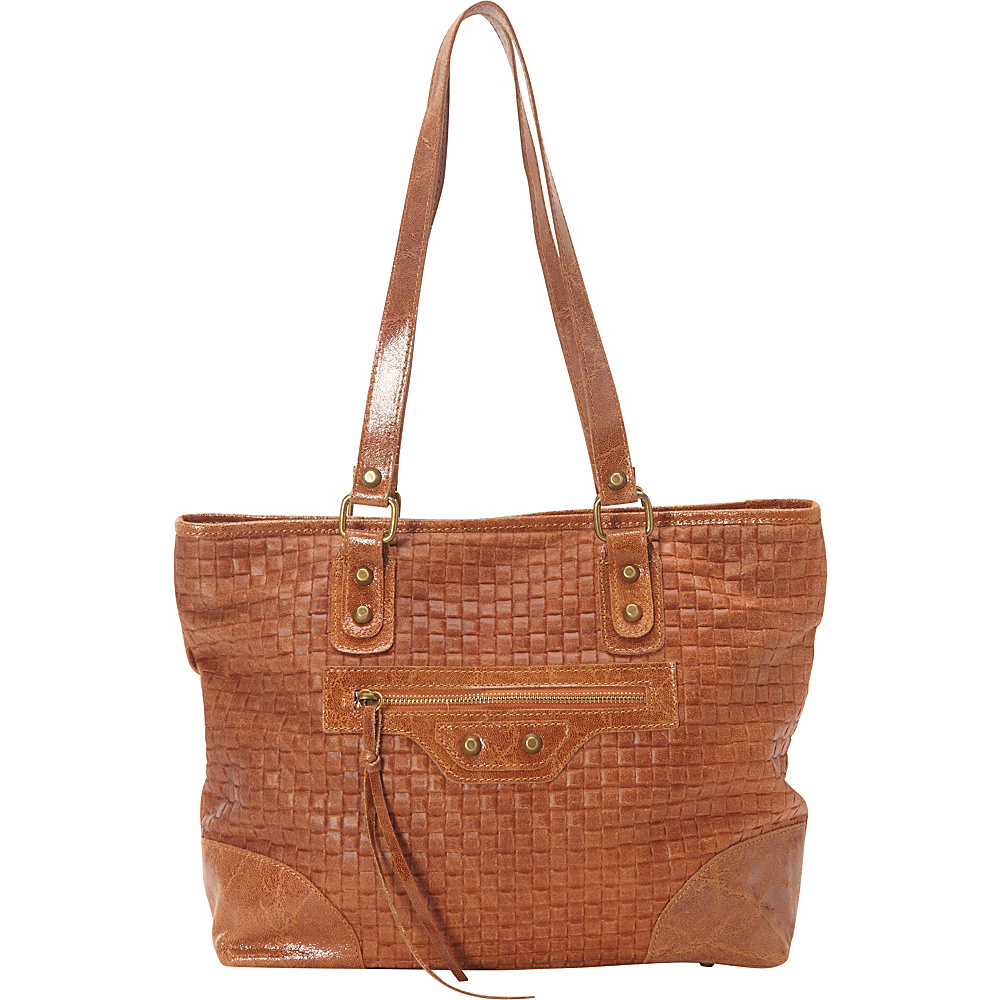 Sharo Leather Bags Woven Italian Leather Tote Honey Mustard Sharo Leather Bags Leather Handbags