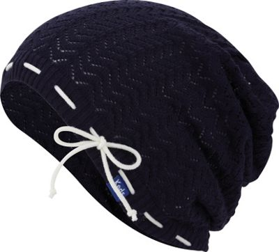 Keds Keds Solid Slouch Beanie Blue Depths - Keds Hats/Gloves/Scarves