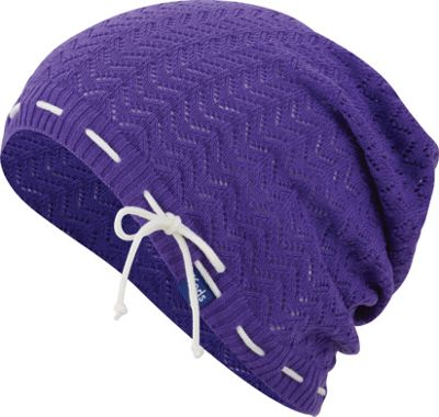 Keds Solid Slouch Beanie One Size - Dewberry Painterly Fruit - Keds Hats/Gloves/Scarves