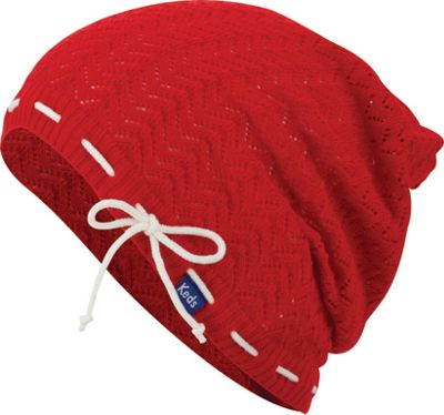 Keds Keds Solid Slouch Beanie Rococco Red - Keds Hats/Gloves/Scarves