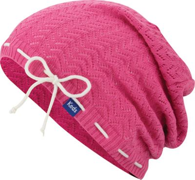 Keds Solid Slouch Beanie Super Pink - Keds Hats/Gloves/Scarves