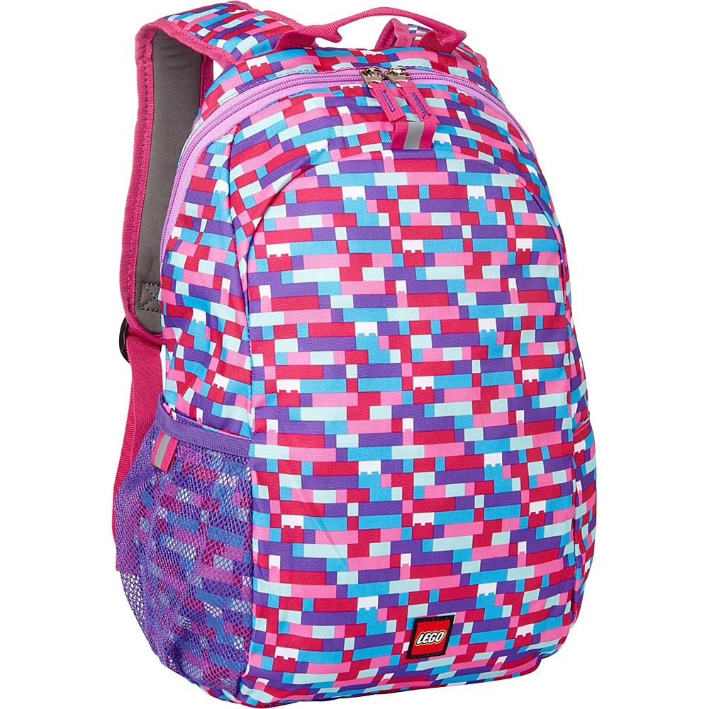 LEGO Heritage Basic Backpack Classic Brick Pink LEGO Everyday Backpacks