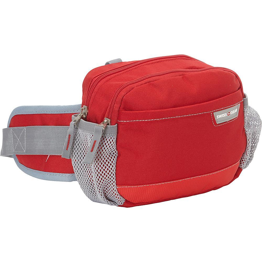 SwissGear Travel Gear Waist Pack Red SwissGear Travel Gear Waist Packs