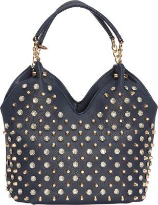 Latique Jocelyn 4-Poster Tote Ink - Latique Manmade Handbags