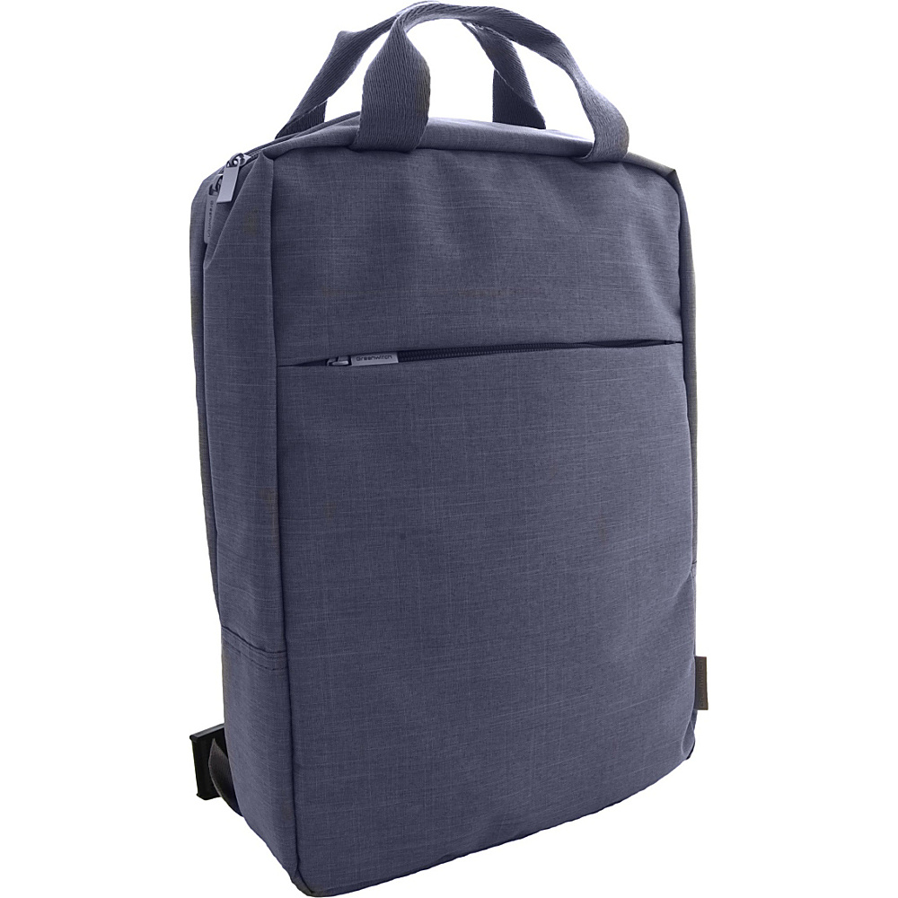 Greenwitch Notebook Backpack Blue - Greenwitch Business & Laptop Backpacks