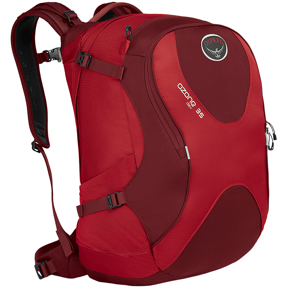 Osprey Ozone Travel Pack 35 Hoodoo Red- DISCONTINUED - Osprey Business & Laptop Backpacks - Backpacks, Business & Laptop Backpacks